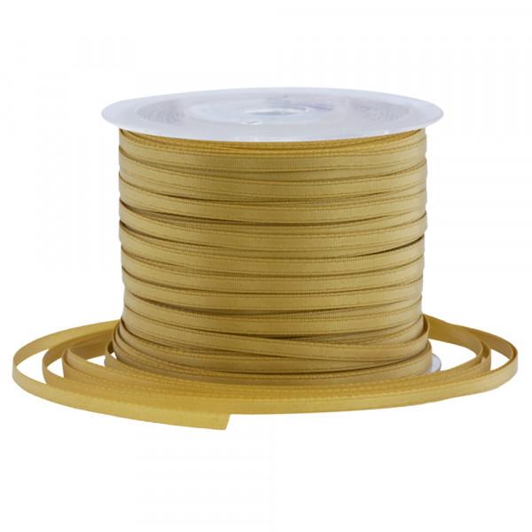Satinband 3 mm x 100 m - gold
