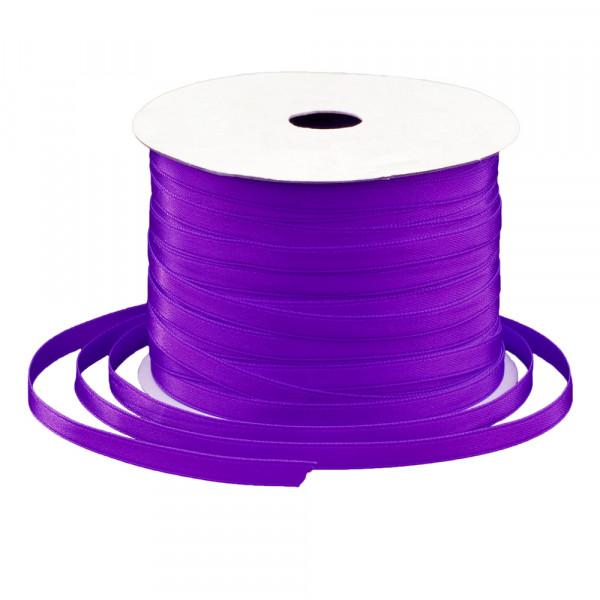 Satinband 6 mm x 91 m - violett