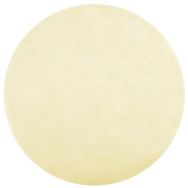 Platzset / Tischset Vlies rund 34 cm (50 Stück) - creme