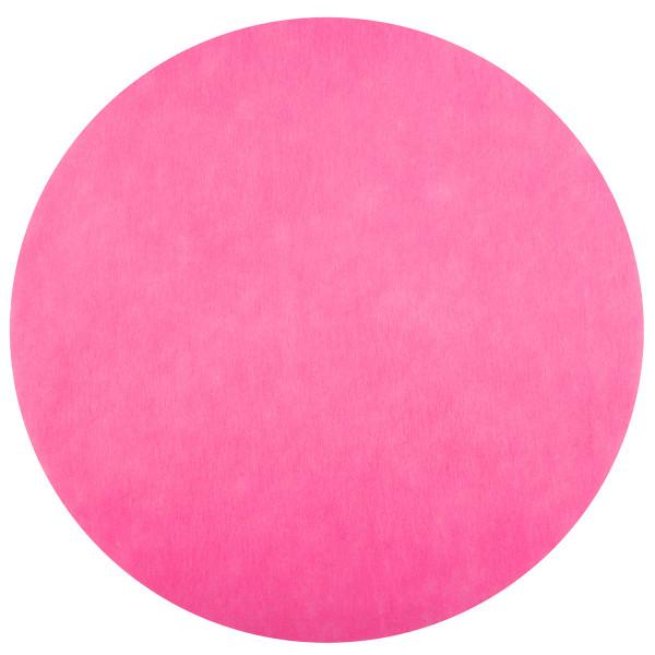 Platzset / Tischset Vlies rund 34 cm (50 Stück) - pink
