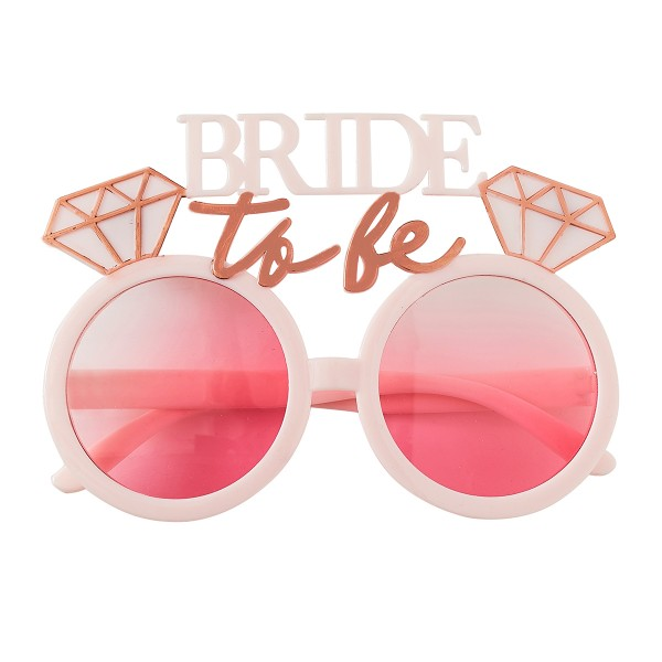 Blush Party Bride to be Brille