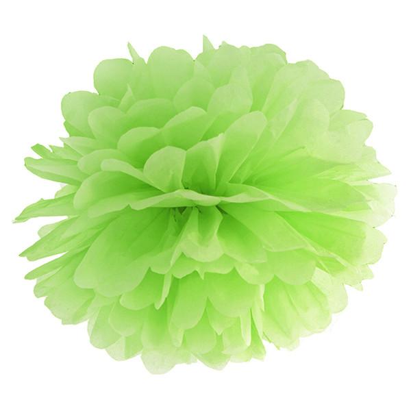 Pompom 35 cm hellgrün