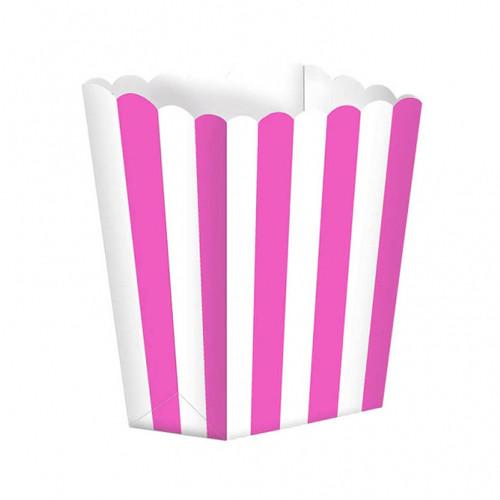 Candy Bar Snack / Popcorn Becher (5 Stück) - pink