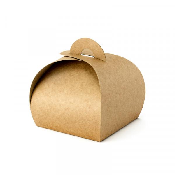Geschenkbox / Kartonage (10 Stück) - Kraft