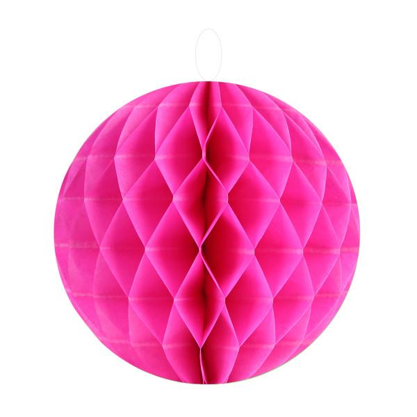 Honeycombs / Wabenbälle 20 cm (2 Stück) - pink