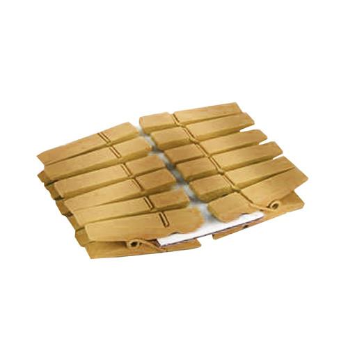 Klammern (12 Stück) - gold