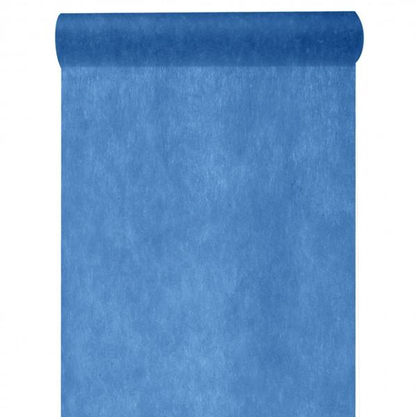 Tischläufer Vlies 30 cm x 10 m - blau