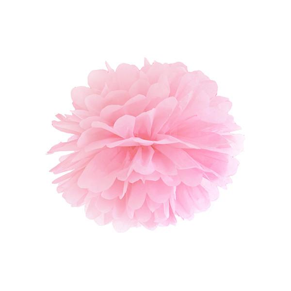 Pompom 25 cm rosa