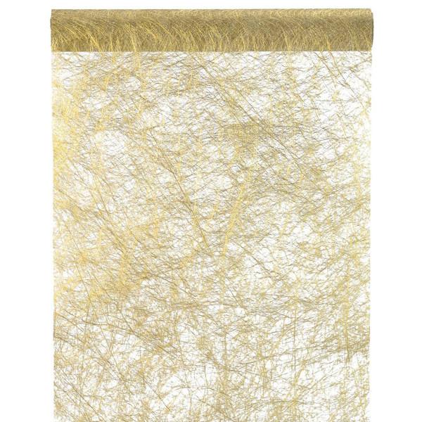 Tischläufer Fanon 30 cm x 5 m - gold