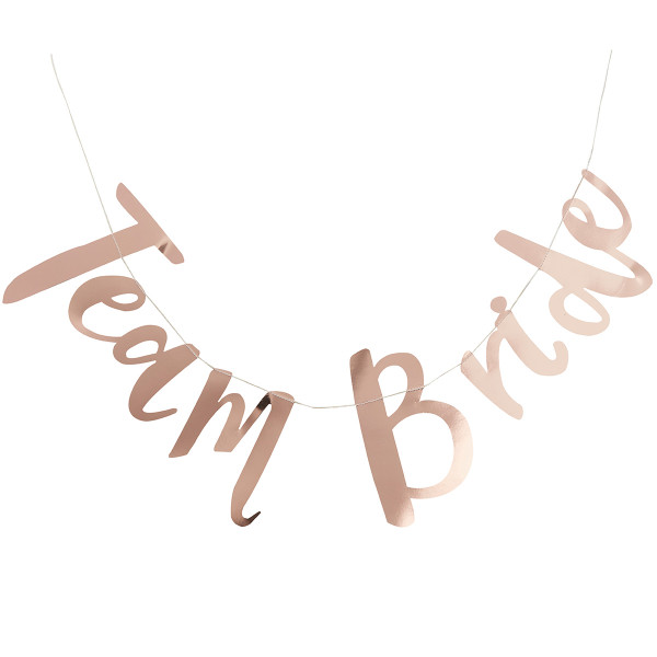 Team Bride Girlande 1,5 m - roségold