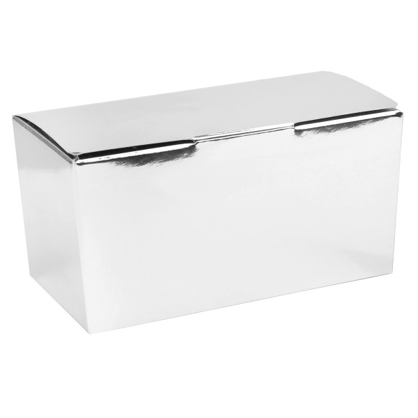 Schachteln / Boxen 11 cm x 6 cm (25 Stück) - silber