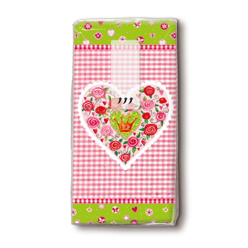 Taschentücher 'Lovely' 10 Stück