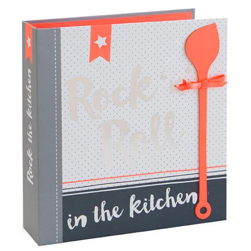 Rezeptordner / Rezeptbuch 'Rock 'n' Roll in the Kitchen' DIN A5
