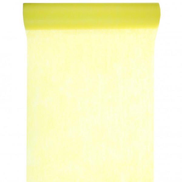 Tischläufer Vlies 30 cm x 10 m - gelb