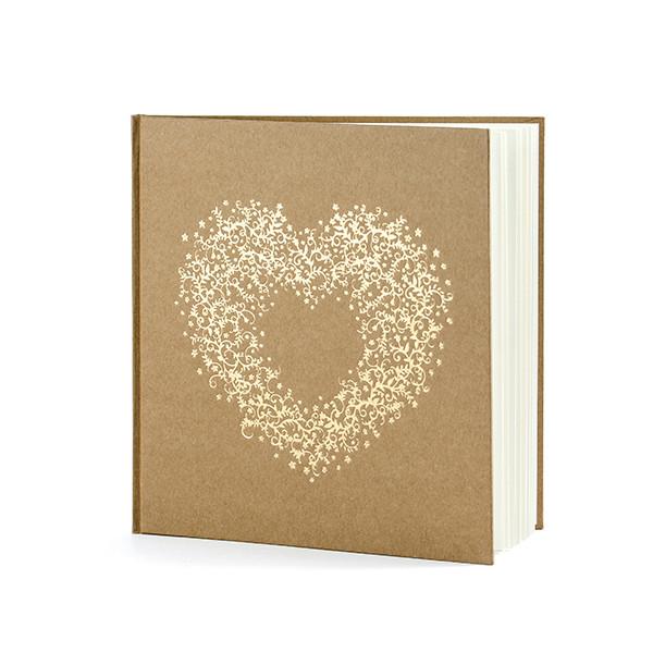 Gästebuch goldenes Herz - kraft