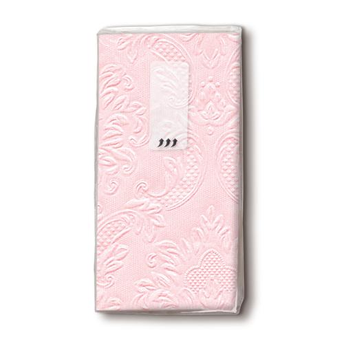 Taschentücher - Ornament, rosa 10 Stück