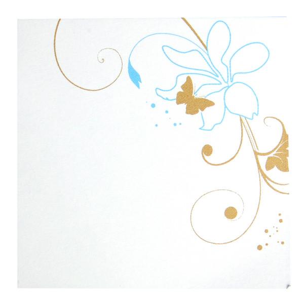 Tischkarte - Butterfly (1 Stück)
