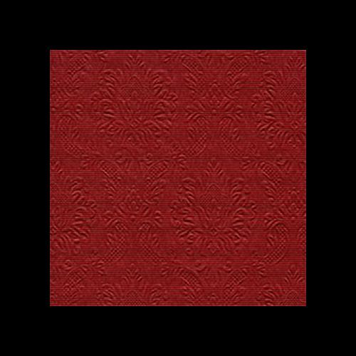 Cocktailservietten Edition Limitée (12 Stück) - Moiré Rot