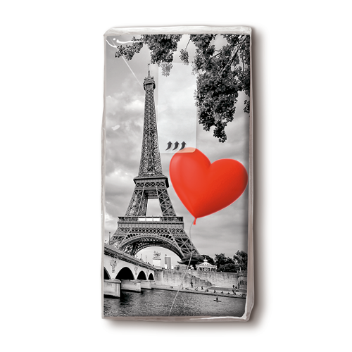 Taschentücher 'City of Love' 10 Stück