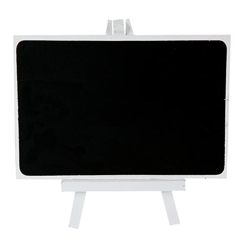 Staffelei Tafel 10 x 18,5 cm - weiß