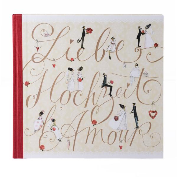 Silke Leffler Gästebuch 'L'amour'
