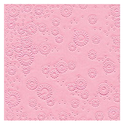 Servietten Moments geprägt (16 Stück) - rosa