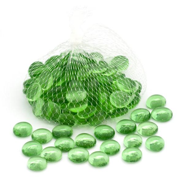 Glassteine / Dekosteine - grün