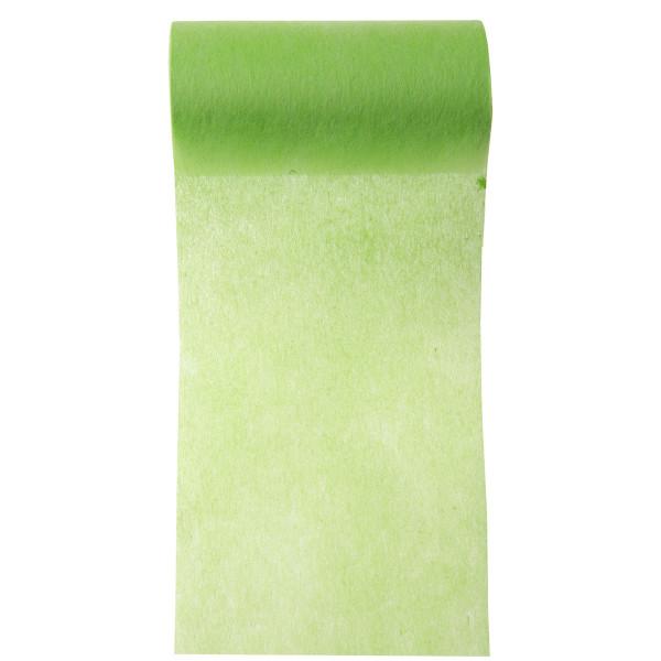 Servietten- / Tischband 10 cm x 10 m - hellgrün