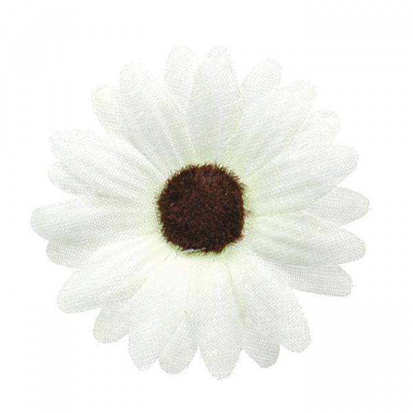 Dekoblumen / Streublüten (24 Stück) - weiß