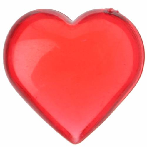 Streudekoration Herzen (12 Stück) - rot