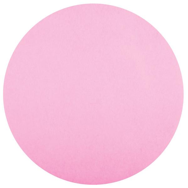 Platzset / Tischset Vlies rund 34 cm (50 Stück) - rosa