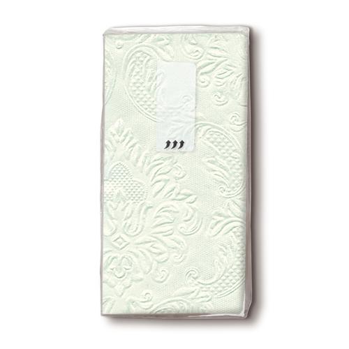 Taschentücher - Ornament, mint 10 Stück
