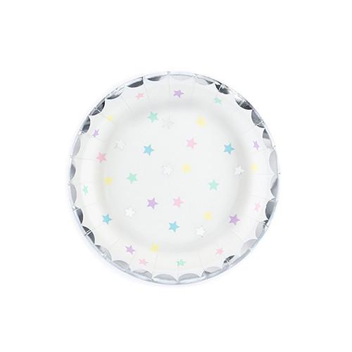 Einhorn Party Teller (6 Stück)