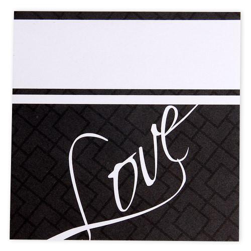 Tischkarte - Love (1 Stück)
