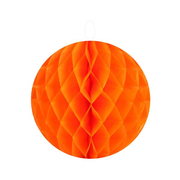 Honeycombs / Wabenbälle 10 cm (2 Stück) - orange