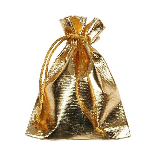Säckchen / Taschen 11 x 14 cm (24 Stück) - gold