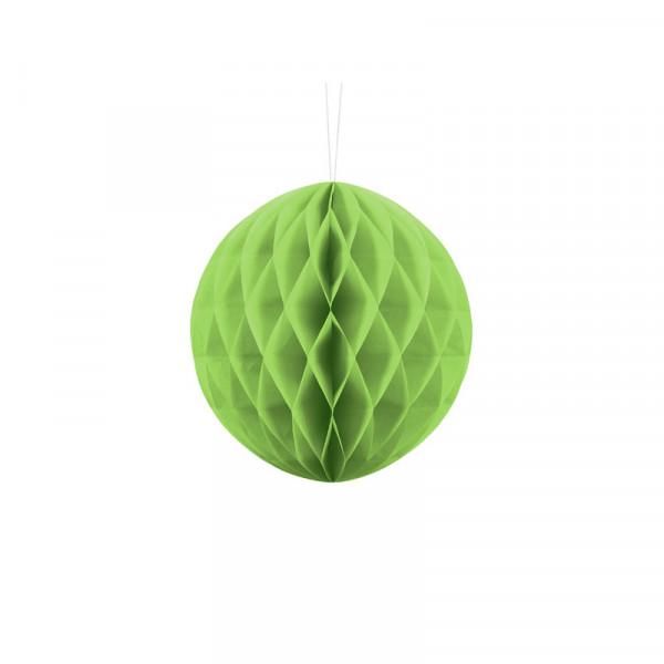 Wabenball 20 cm hellgrün