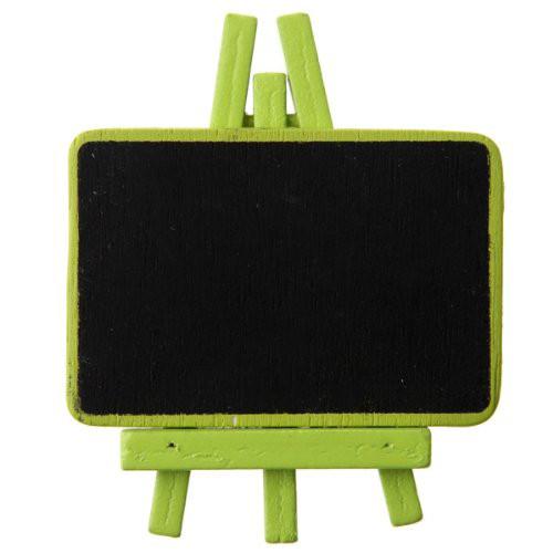 Staffelei mit Tafel (4 Stück) - hellgrün