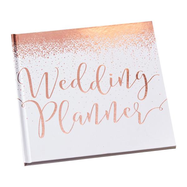 Hochzeitsplaner / Wedding Planner Buch 46 Seiten - roségold