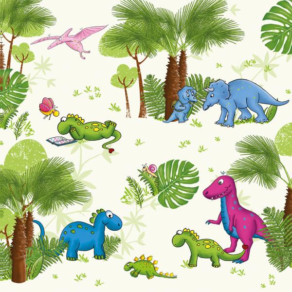 Servietten 'Dinos' (20 Stück)