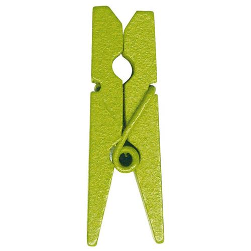 Deko Klammern (12 Stück) - hellgrün
