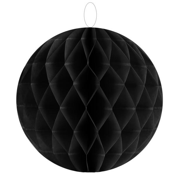 Honeycombs / Wabenbälle 30 cm (2 Stück) - schwarz
