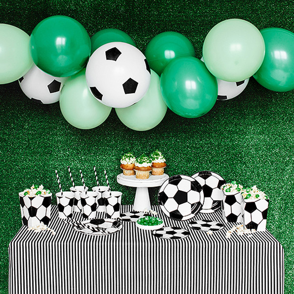 Fußball Party Dekoset 60 tlg.