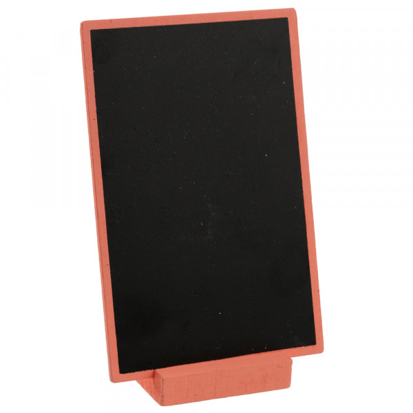 Tafel zum Stellen 10 x 15 cm - apricot