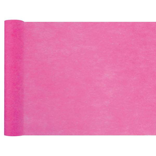 Tischläufer Vlies 30 cm x 25 m - pink