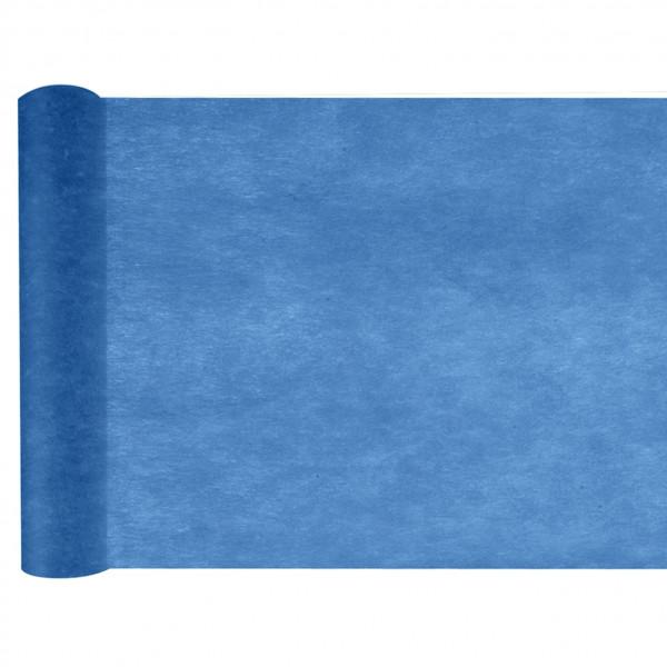 Tischläufer Vlies 30 cm x 25 m - blau