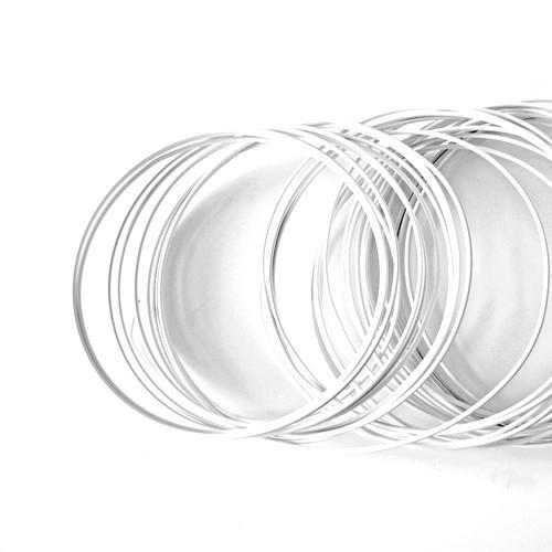 Basteldraht / Dekodraht 2 mm rund 12 m - Weiß