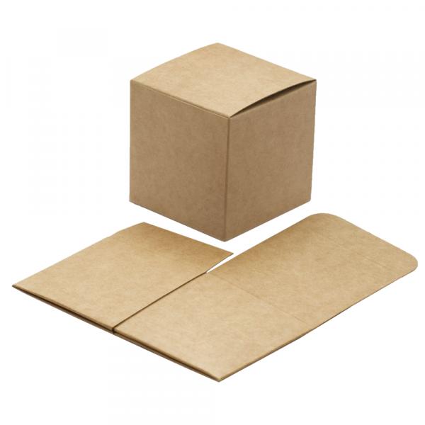 Kartonage / Schachtel 'Pieghevole' - kraft