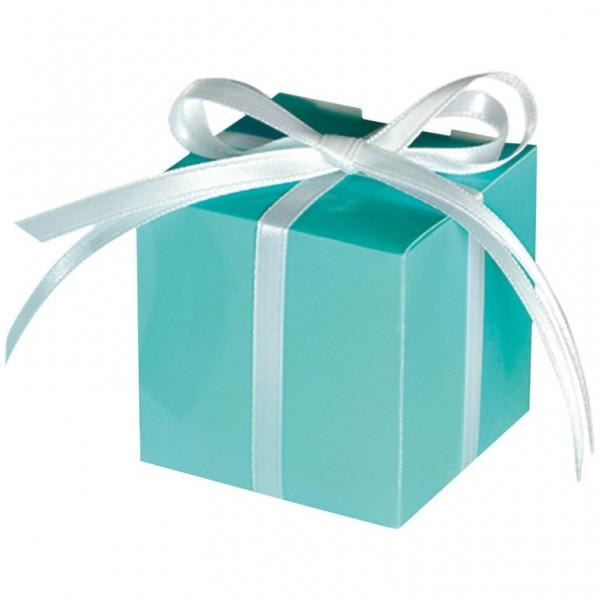 Geschenkbox / Kartonage (100 Stück) - mint