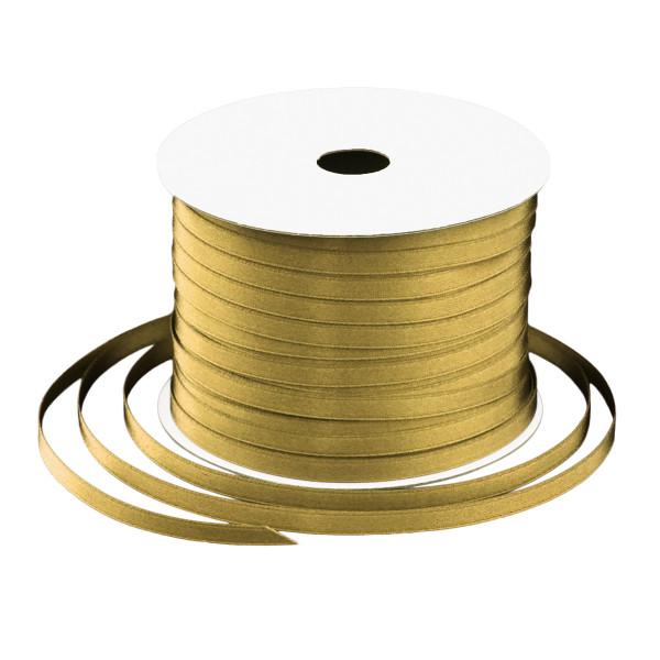 Satinband 6 mm x 91 m - gold